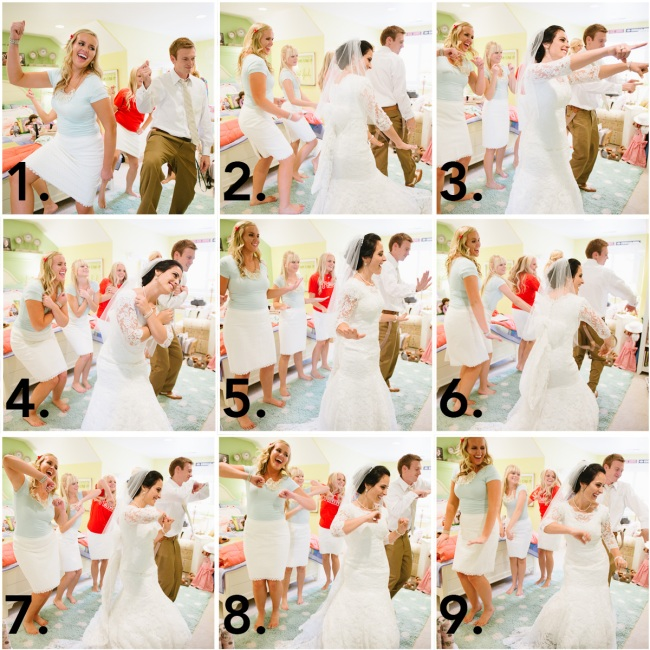 Dancing Collage (with numbers)