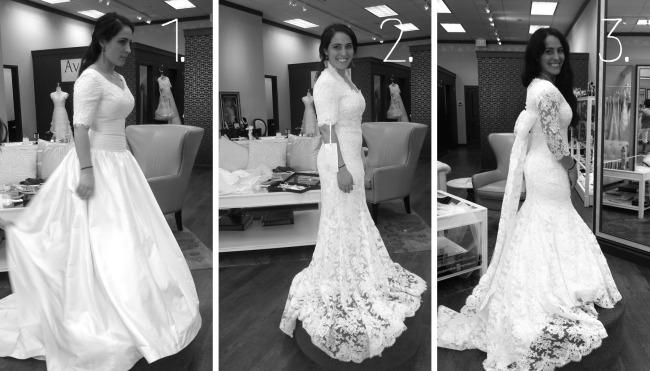 Wedding Dress (1, 2, 3)