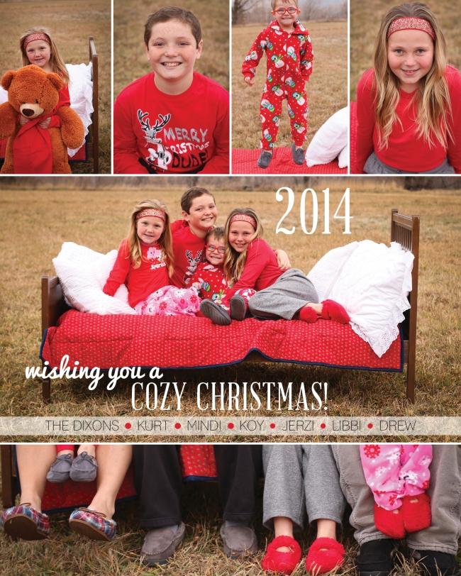 Dixon Family Christmas Card 2014
