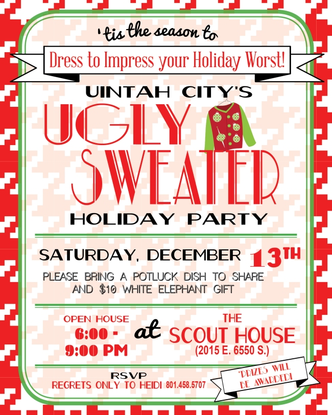 Uintah City Holiday Party 2014-2