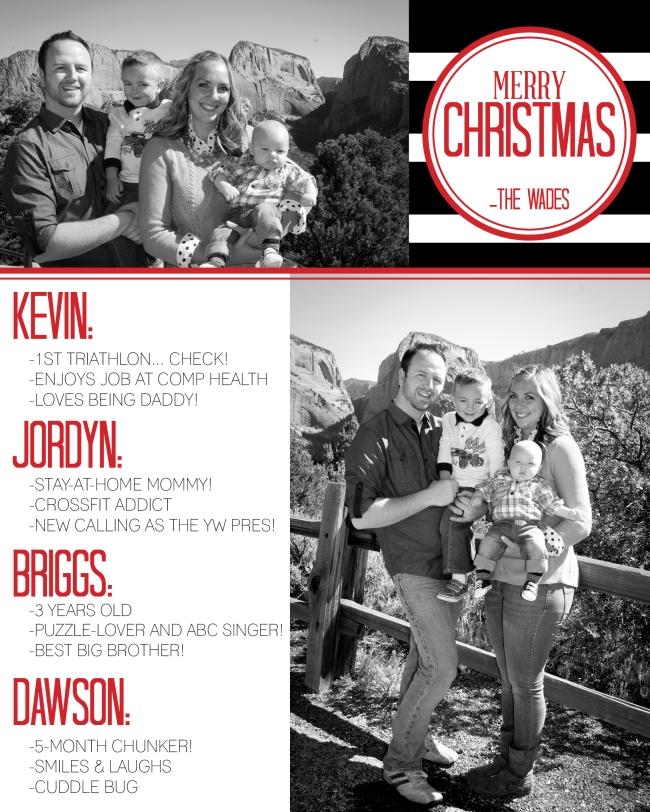 Wade Family Christmas Card Design 2014 (6x7.5)4