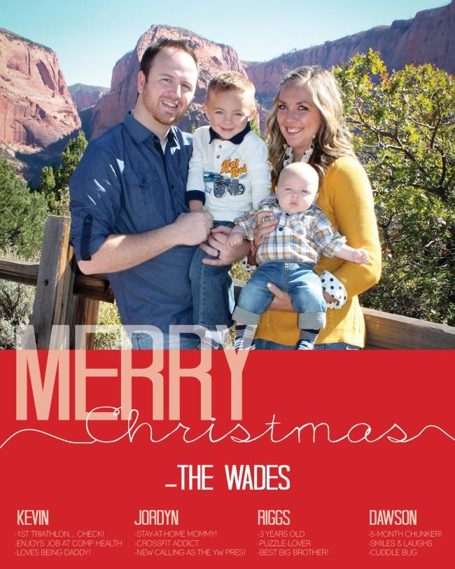 Wade Family Christmas Card Design 2014 (6x7.5)5