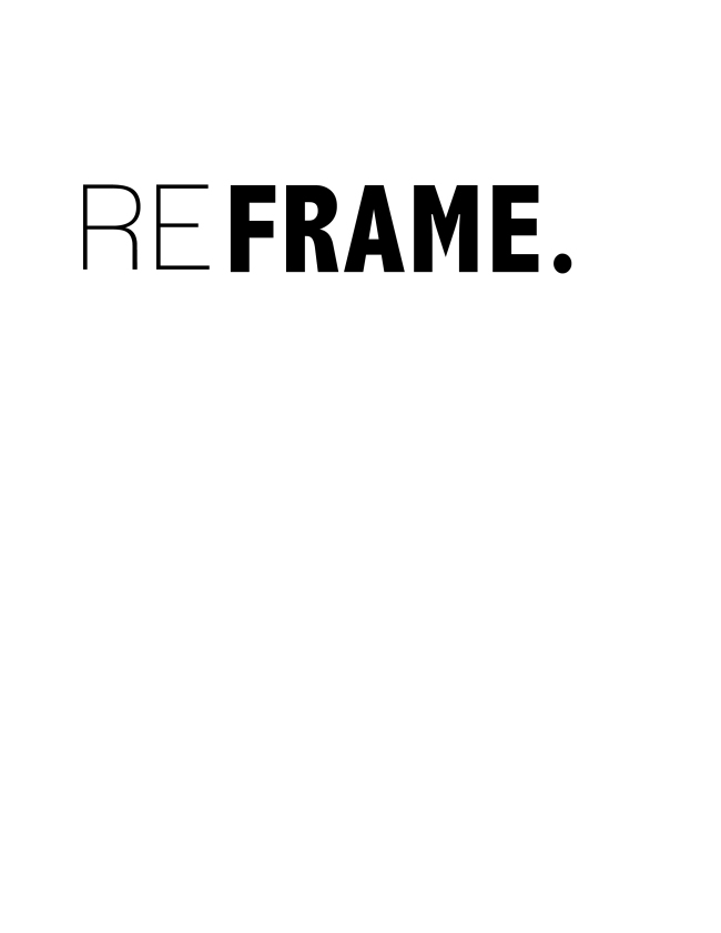 Reframe {ASF&D Typography}