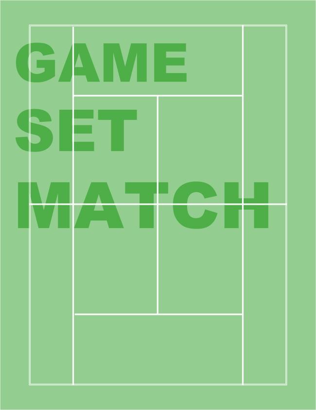 Tennis Court (game, set, match)