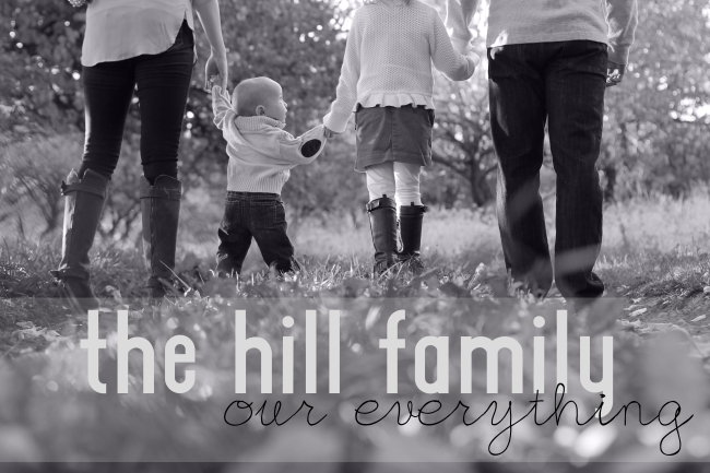 The Hill Family 2013 Graphic Design