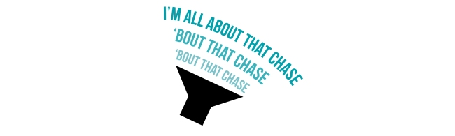 "I'm all about that Chase Design 2015 (10""x3"")3"