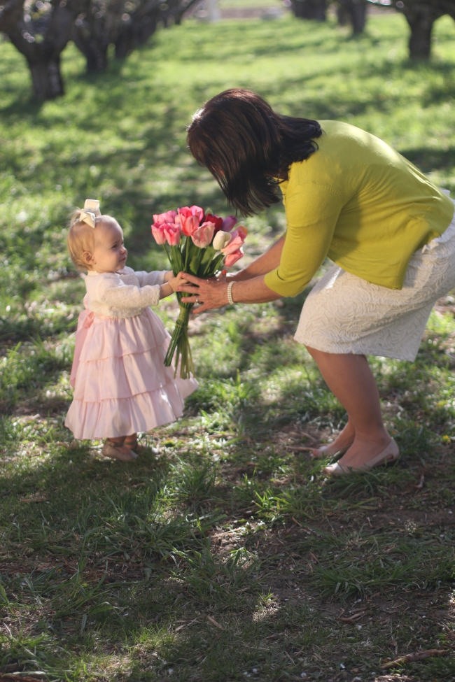 Nannie and Mommy Springtime Shoot 2014_30