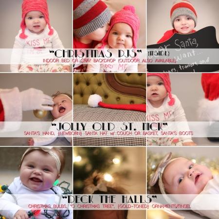 Christmas Mini Shoot 2014 (indoor scenes)