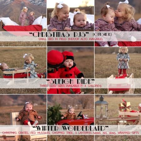 Christmas Mini Shoot 2014 (outdoor scenes)