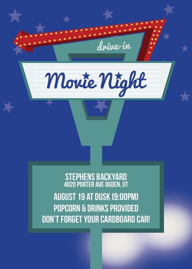 Drive In Movie Night 2016