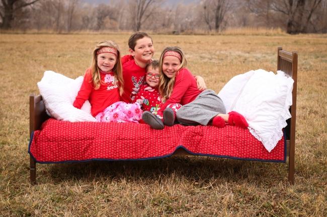 _FAVS Dixon Kids Christmas PJs Pics 2014