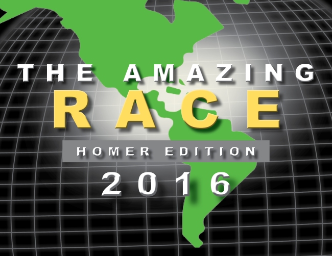 Homer Family Reunion (The Amazing Race) Logo 2016