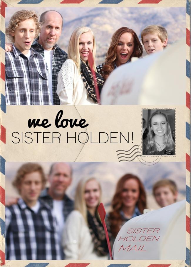 *We love Sister Holden design