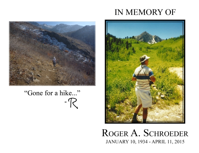 Roger A. Schroeder Funeral Program DRAFT 2