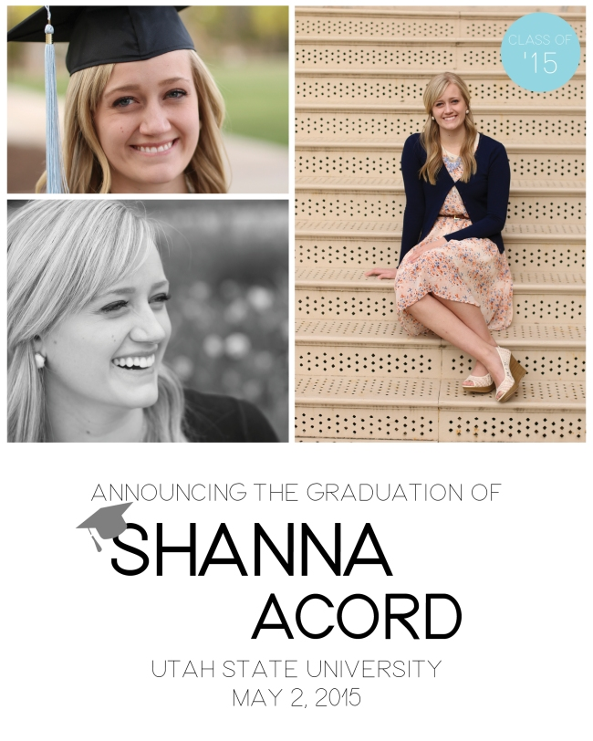 Shanna Acord Class of 2015 Design4