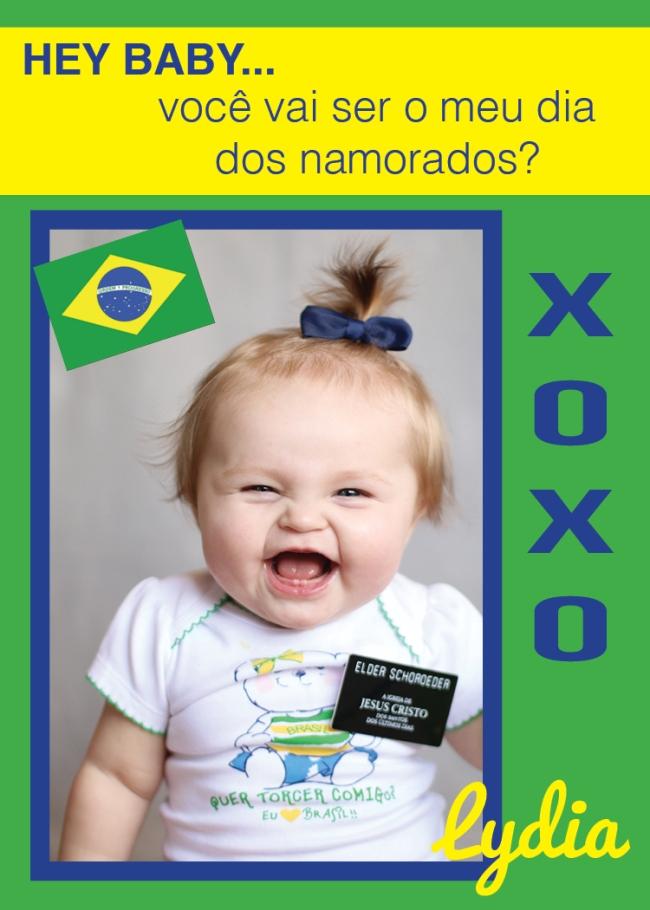 Brazil (Lydia) Valentine Design 2015 (2.5x3.5 wallet)