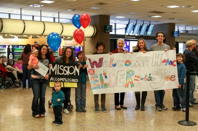 Elder Sohler Welcome Home Photos 2015