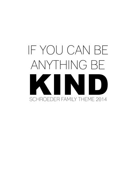 Schroeder Family Theme 2014