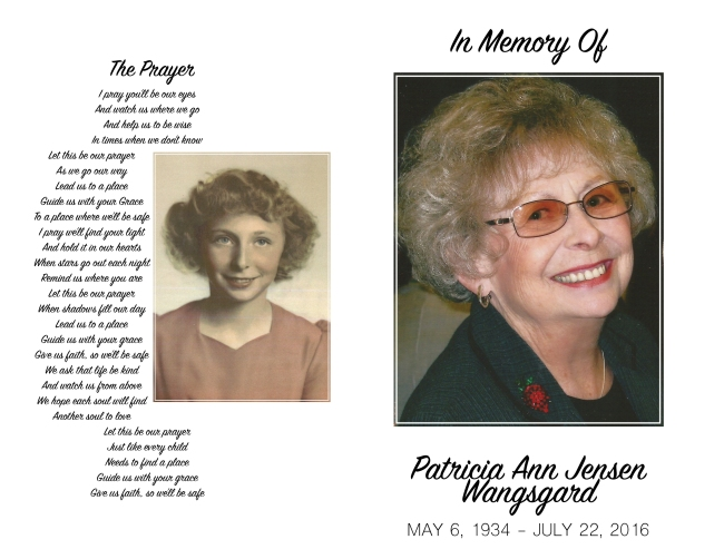 Patti Wangsgard Funeral Program FINAL DRAFT