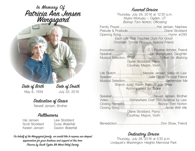 Patti Wangsgard Funeral Program FINAL DRAFT2
