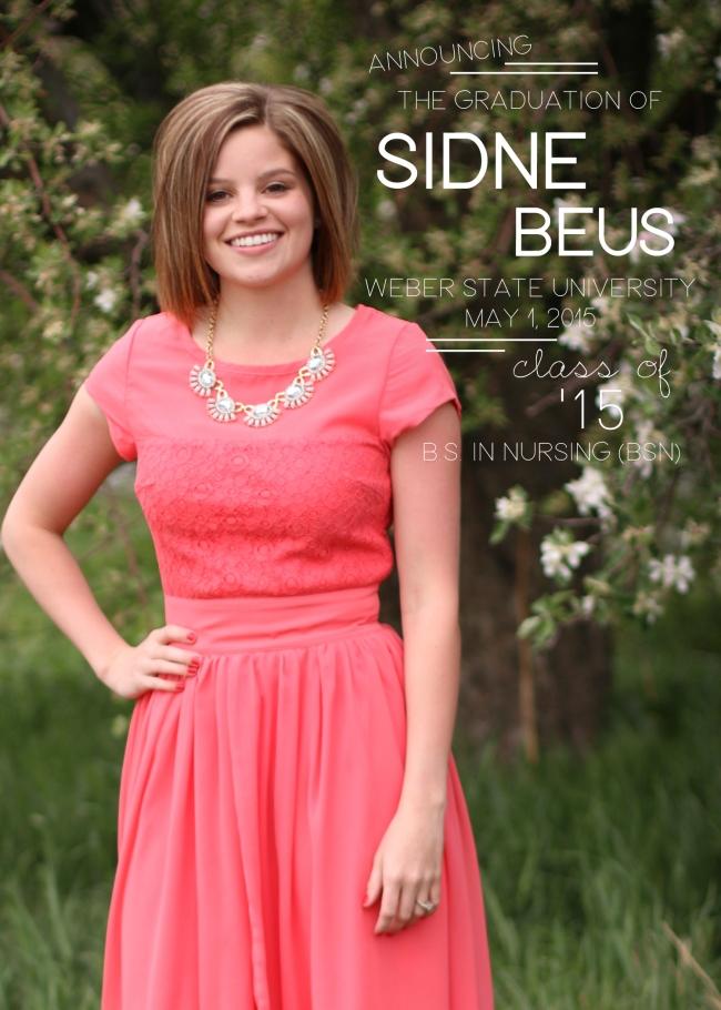 Sidne Beus Class of 2015 Design3