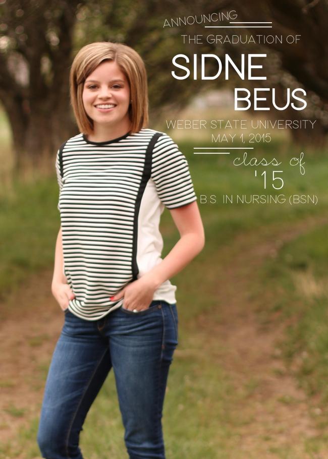 Sidne Beus Class of 2015 Design4