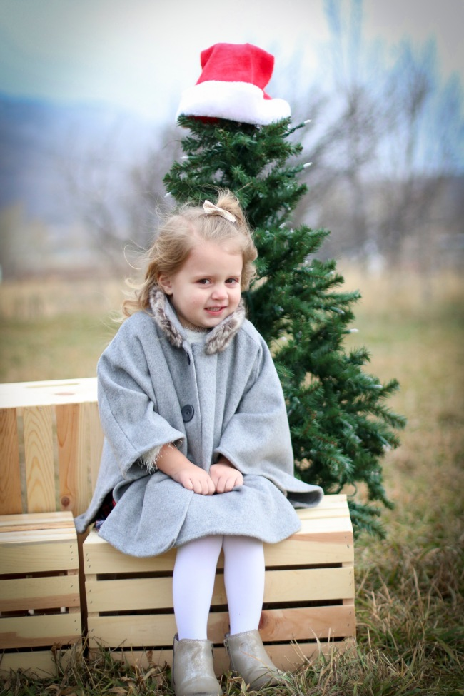Olivia Christmas Photos 2015